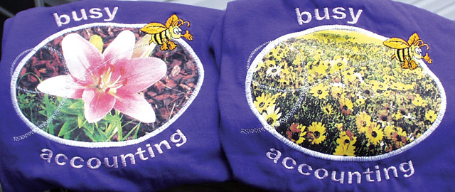 Busy Bee shirt composite